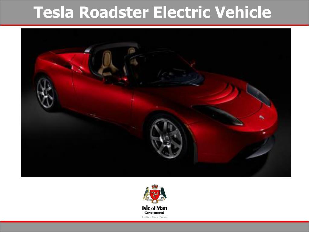 Tesla Roadster Electric Vehicle