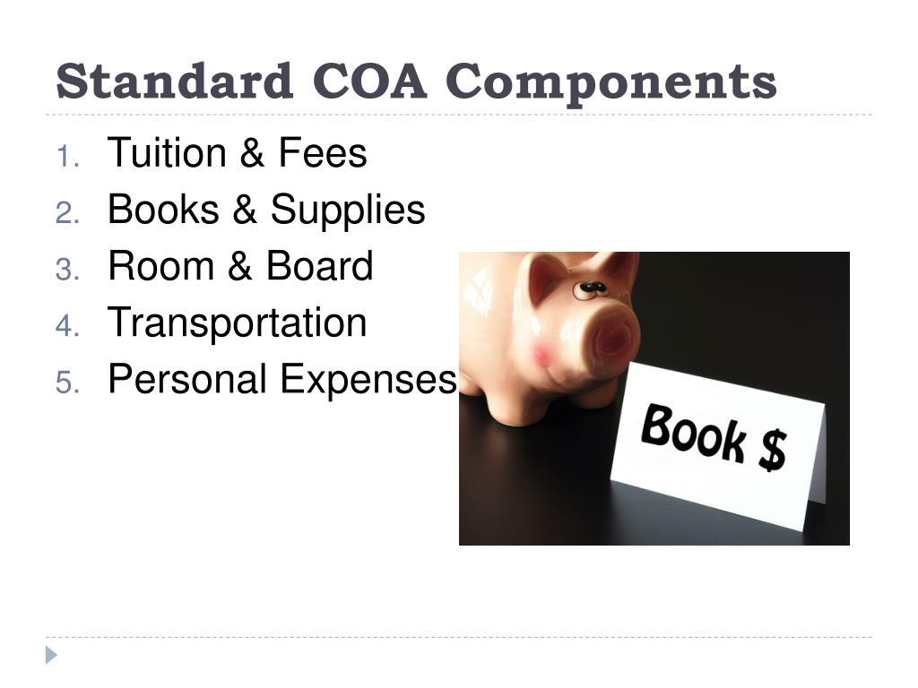 Standard COA Components