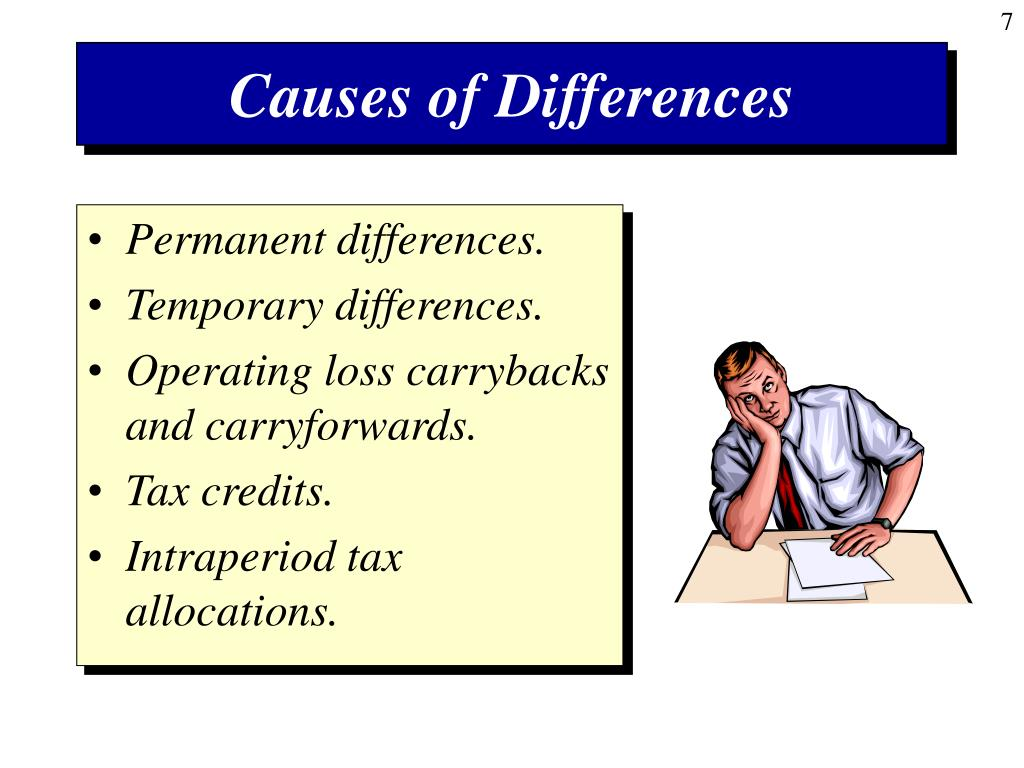 Causes of Differences