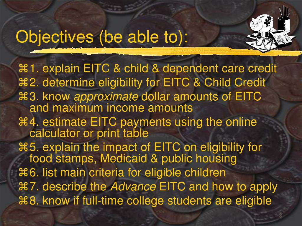 Objectives (be able to):