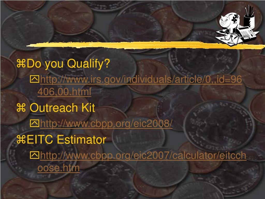Do you Qualify?