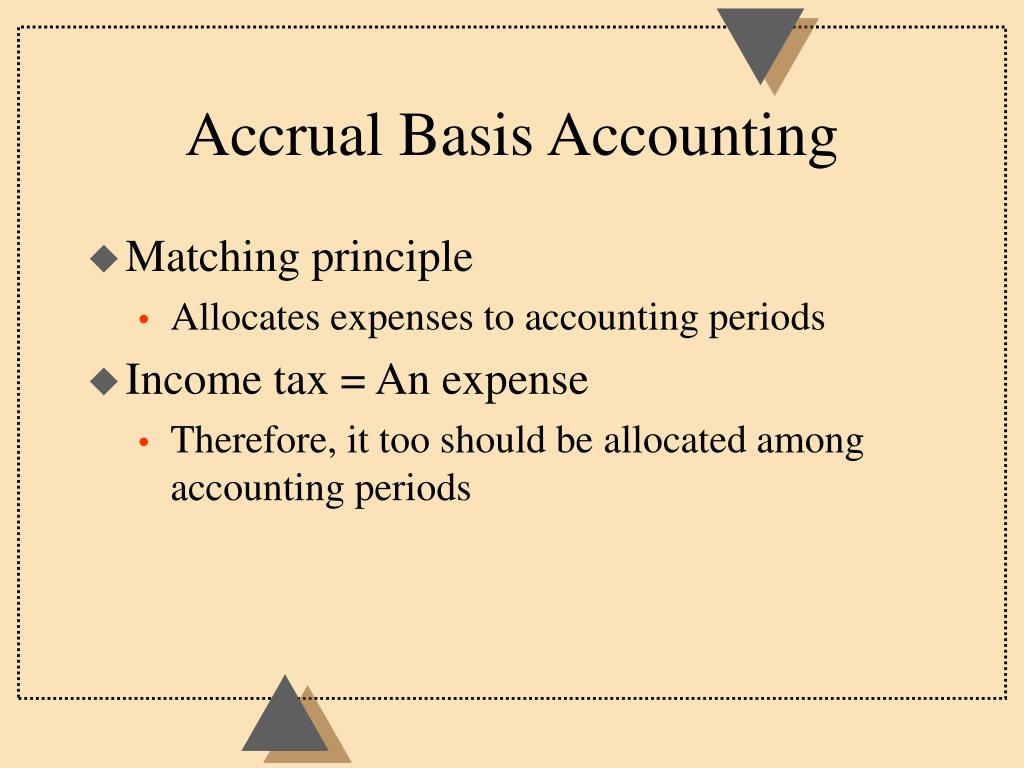 Accrual Basis Accounting