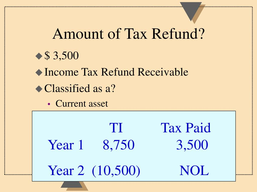 Amount of Tax Refund?