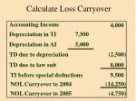 calculate loss carryover109