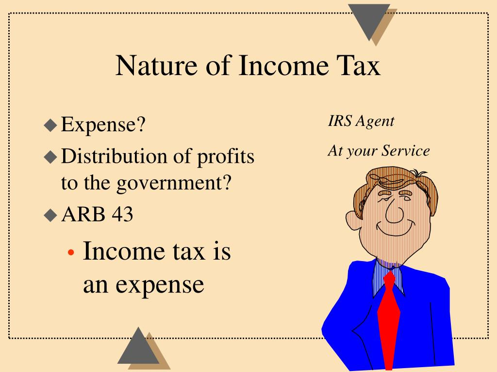 Nature of Income Tax