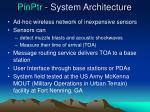 pinptr system architecture