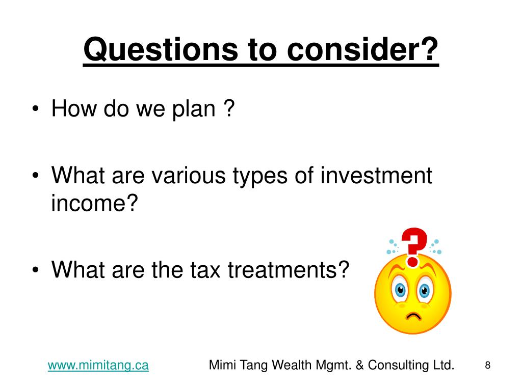 Questions to consider?