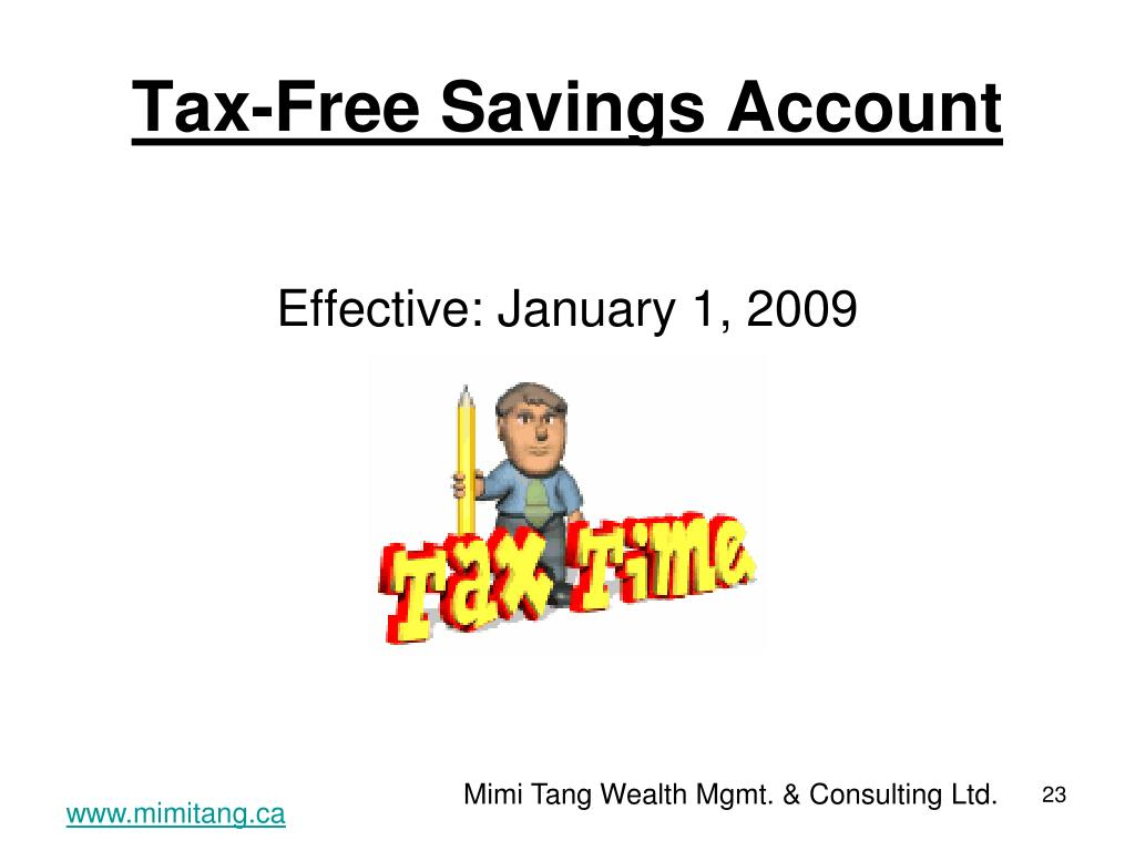 Tax-Free Savings Account