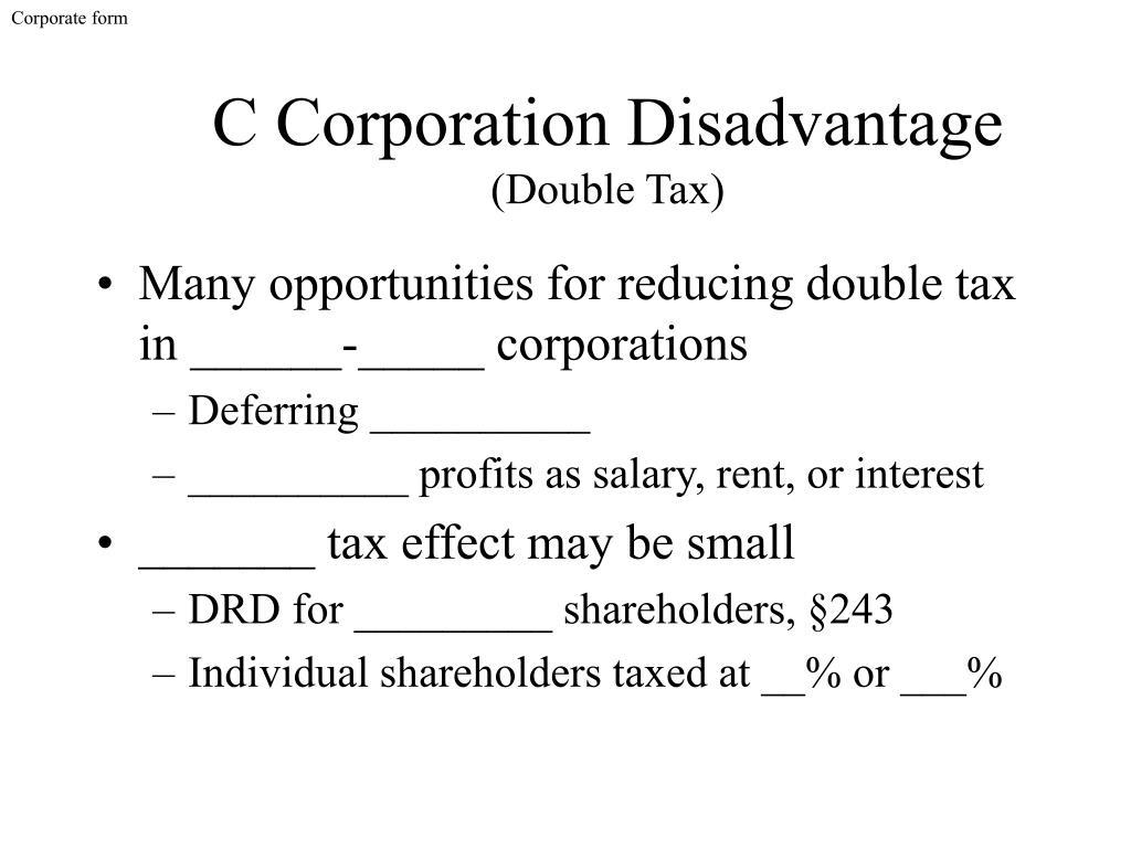 Corporate form