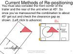 current methods of re positioning10