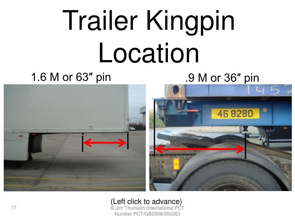 Trailer Kingpin Location
