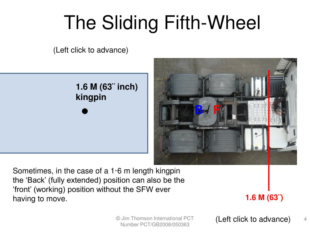 The Sliding Fifth-Wheel