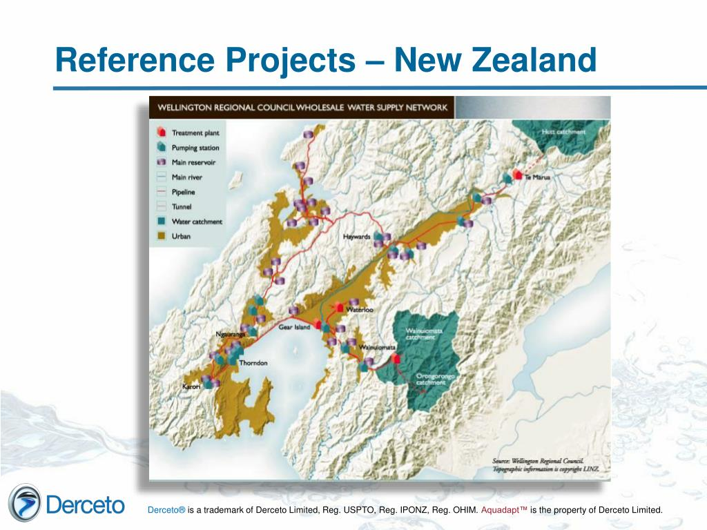 Reference Projects – New Zealand