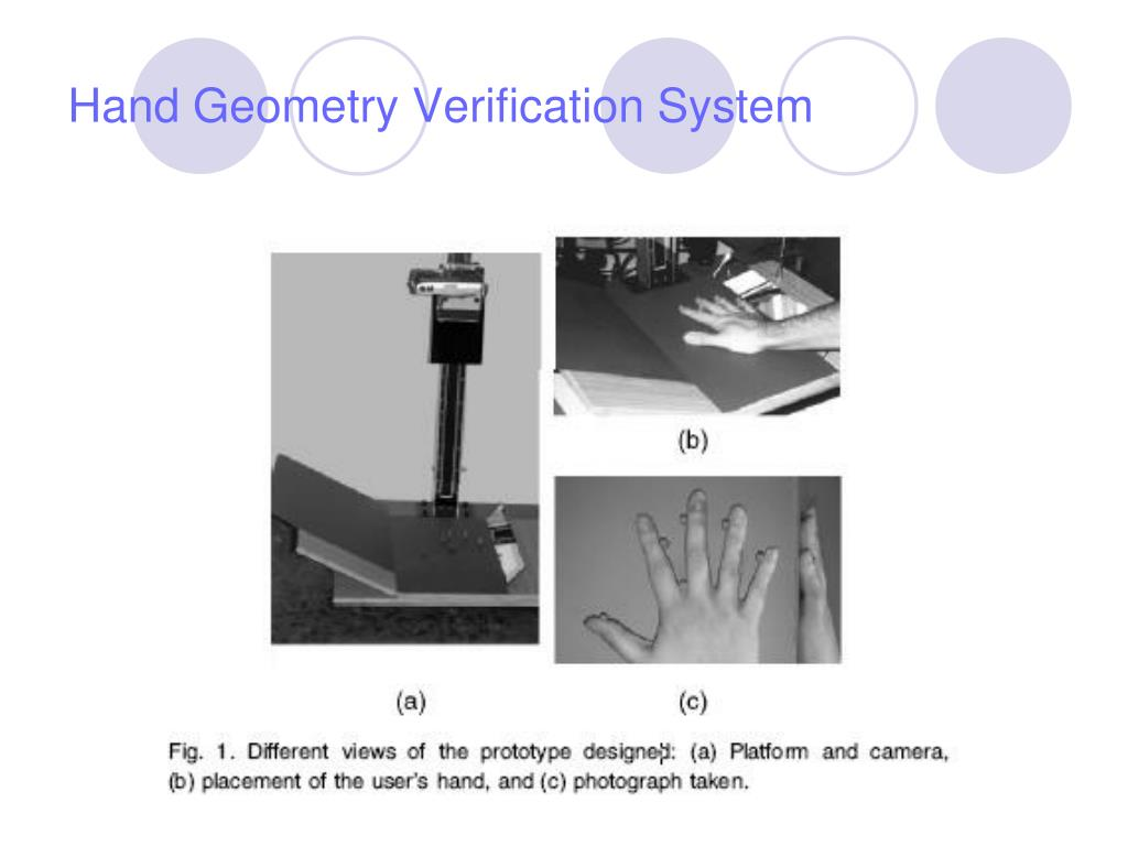 Hand Geometry Verification System