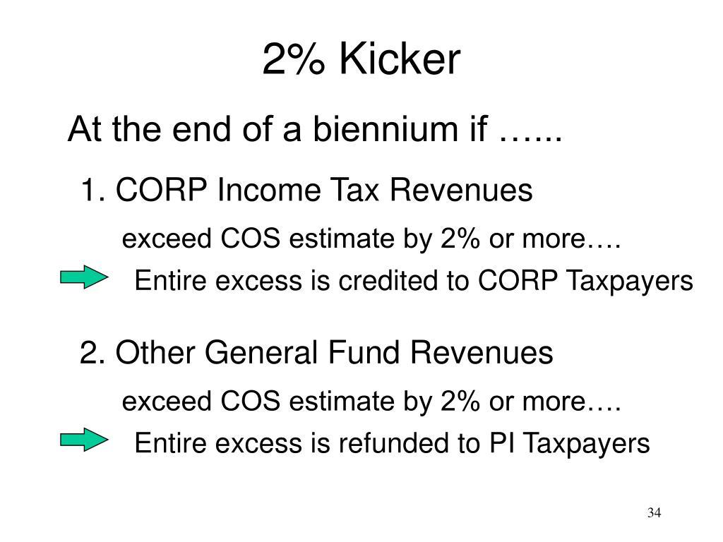 2% Kicker
