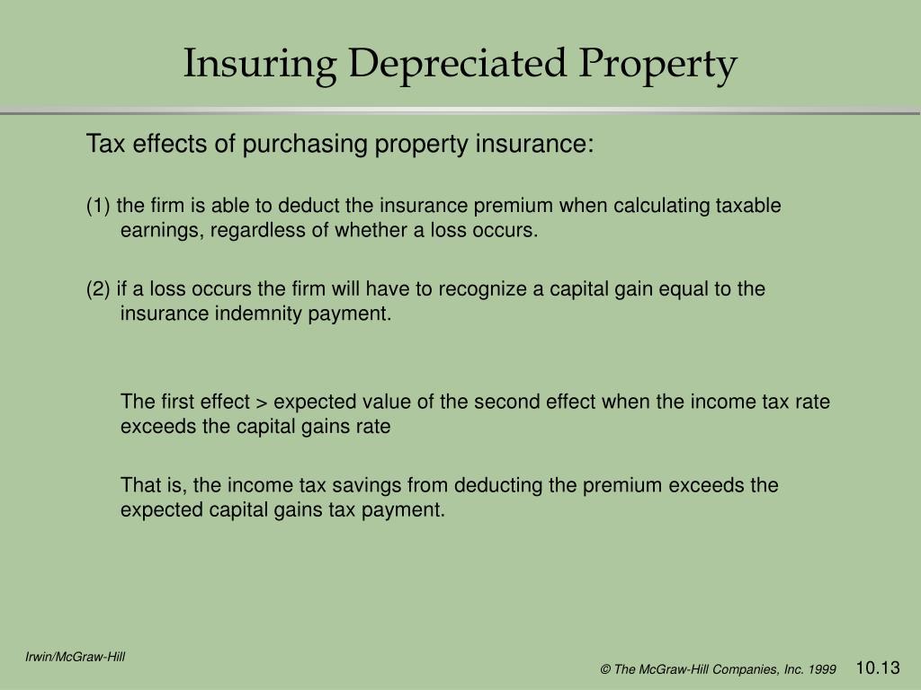 Insuring Depreciated Property