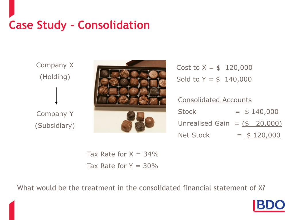 Case Study - Consolidation