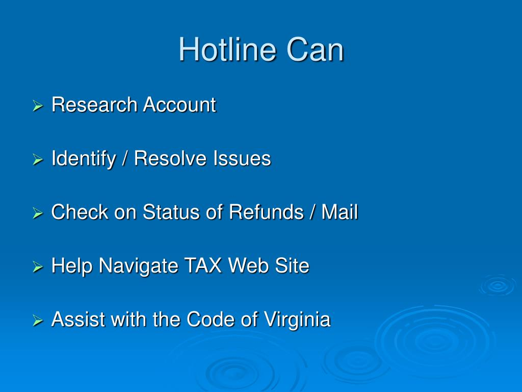 Hotline Can