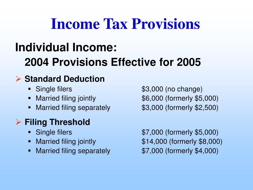 Individual Income: