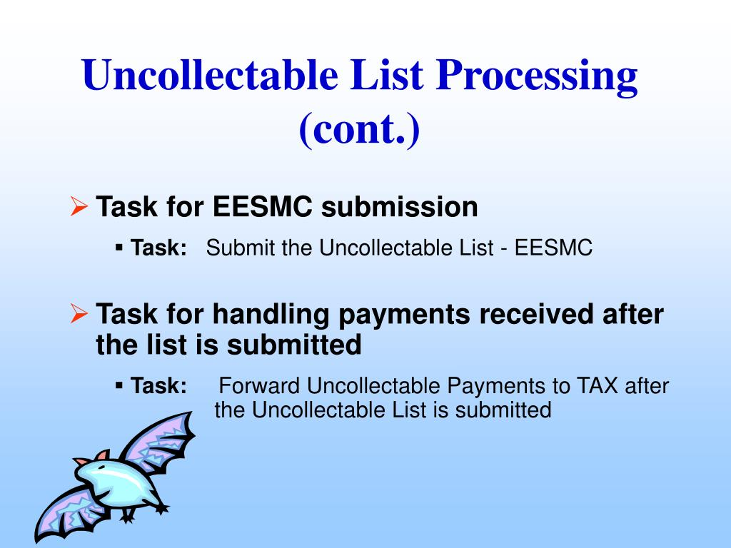 Uncollectable List Processing (cont.)