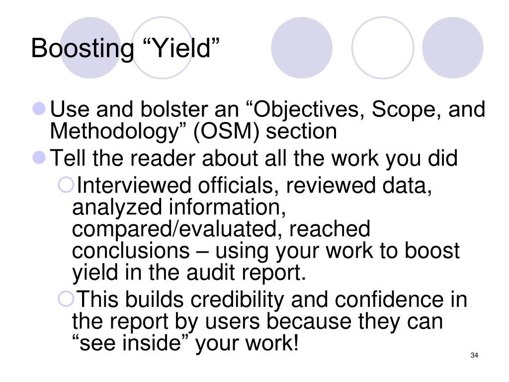 "Boosting ""Yield"""