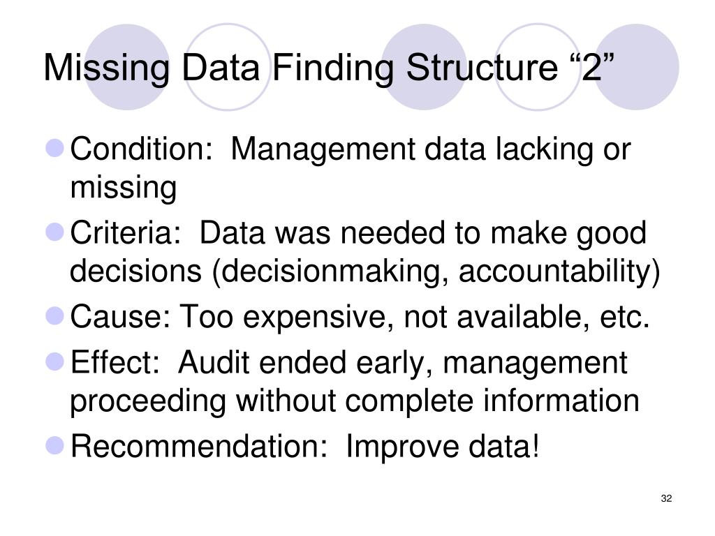 "Missing Data Finding Structure ""2"""