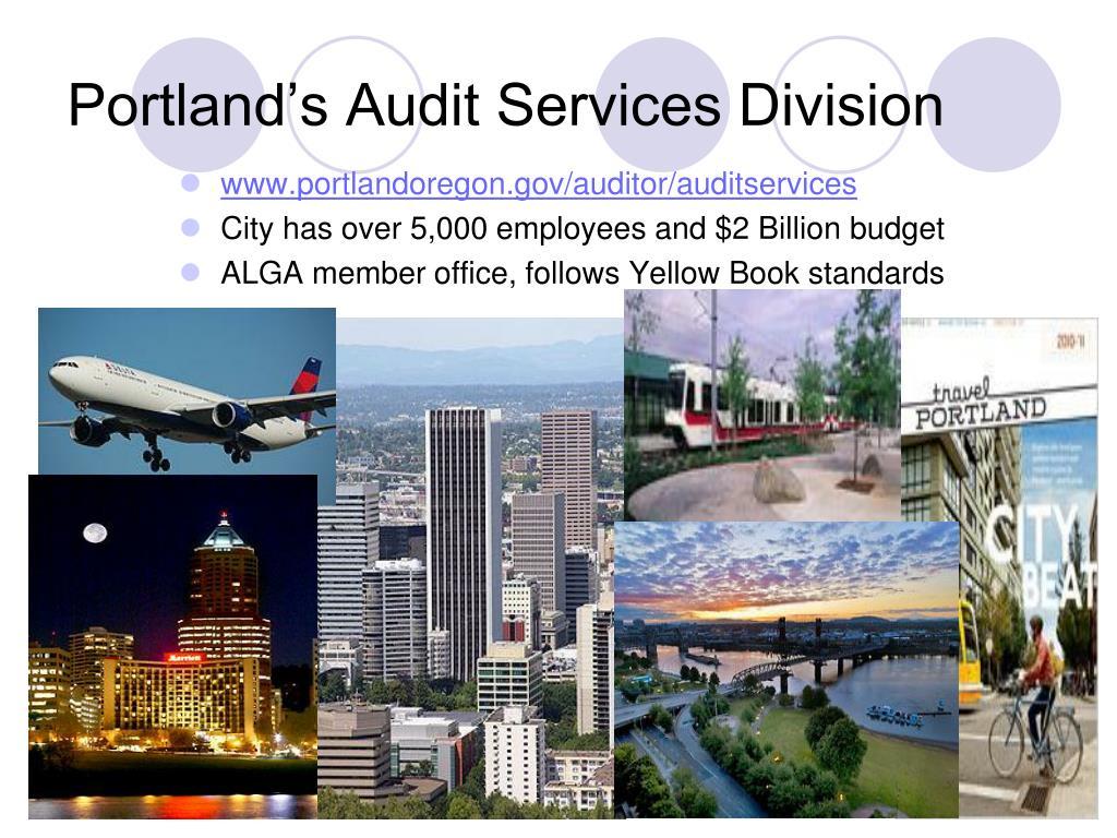 Portland's Audit Services Division