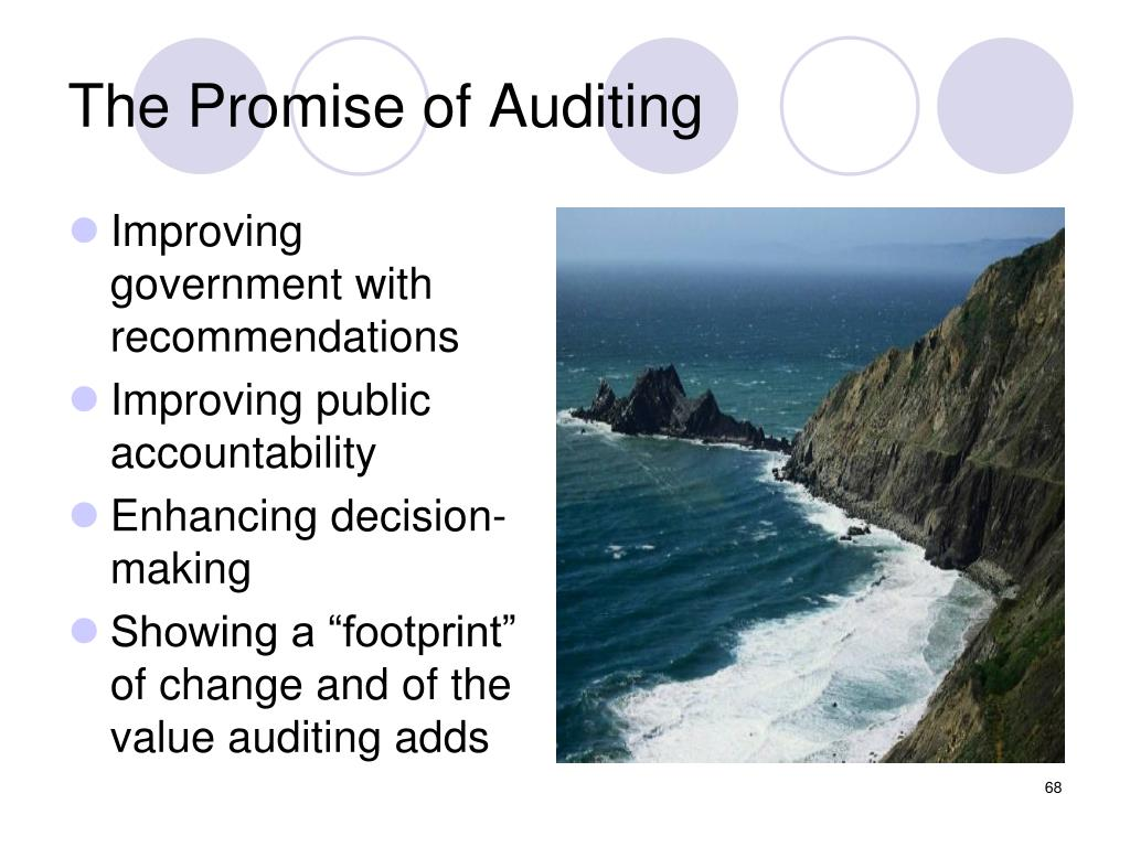 The Promise of Auditing
