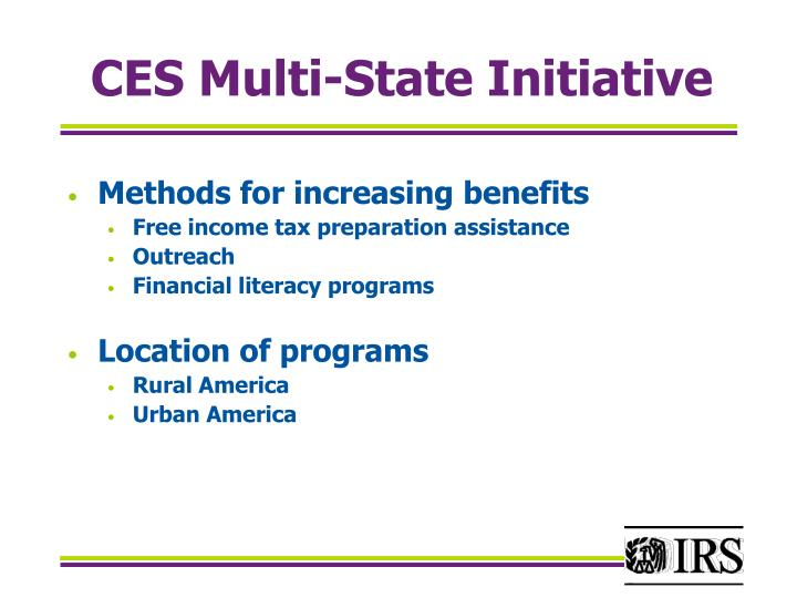 Ces multi state initiative2