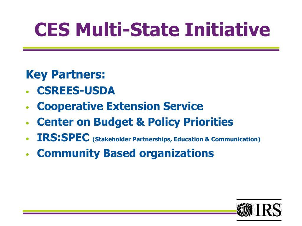 CES Multi-State Initiative
