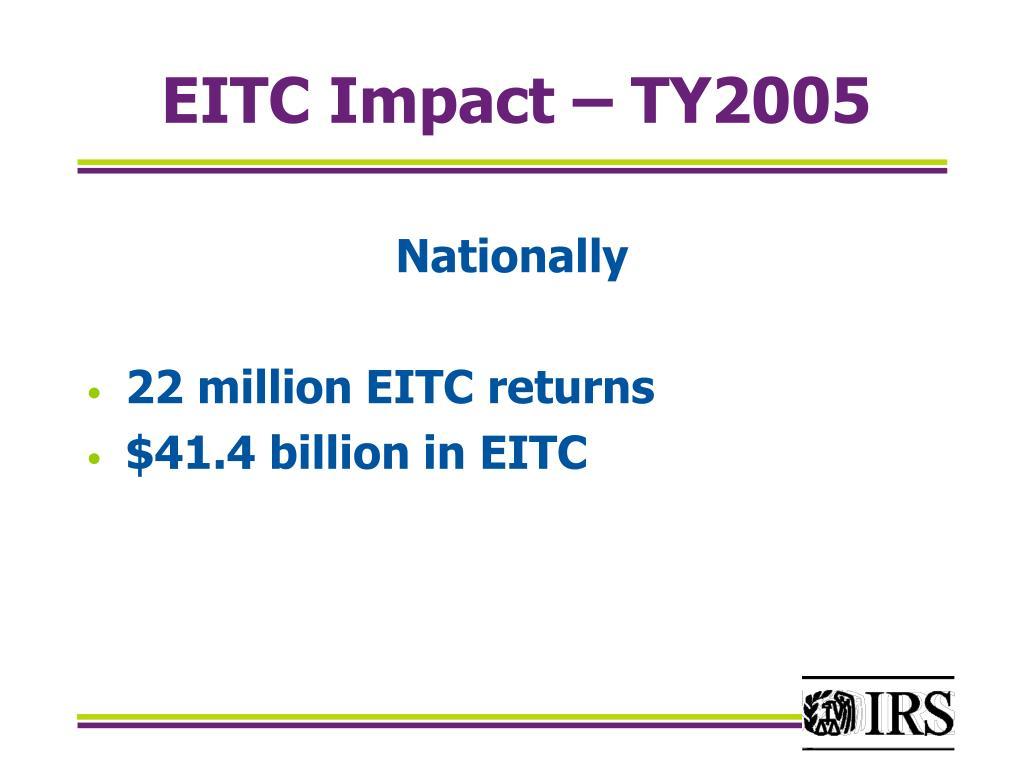 EITC Impact – TY2005