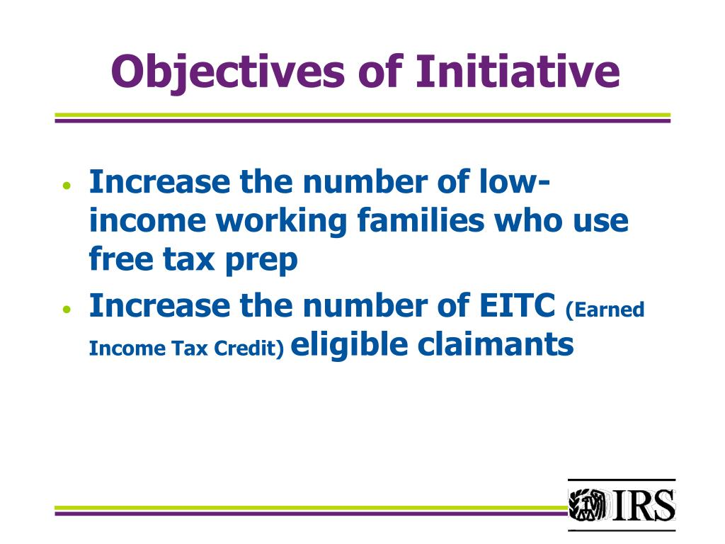 Objectives of Initiative