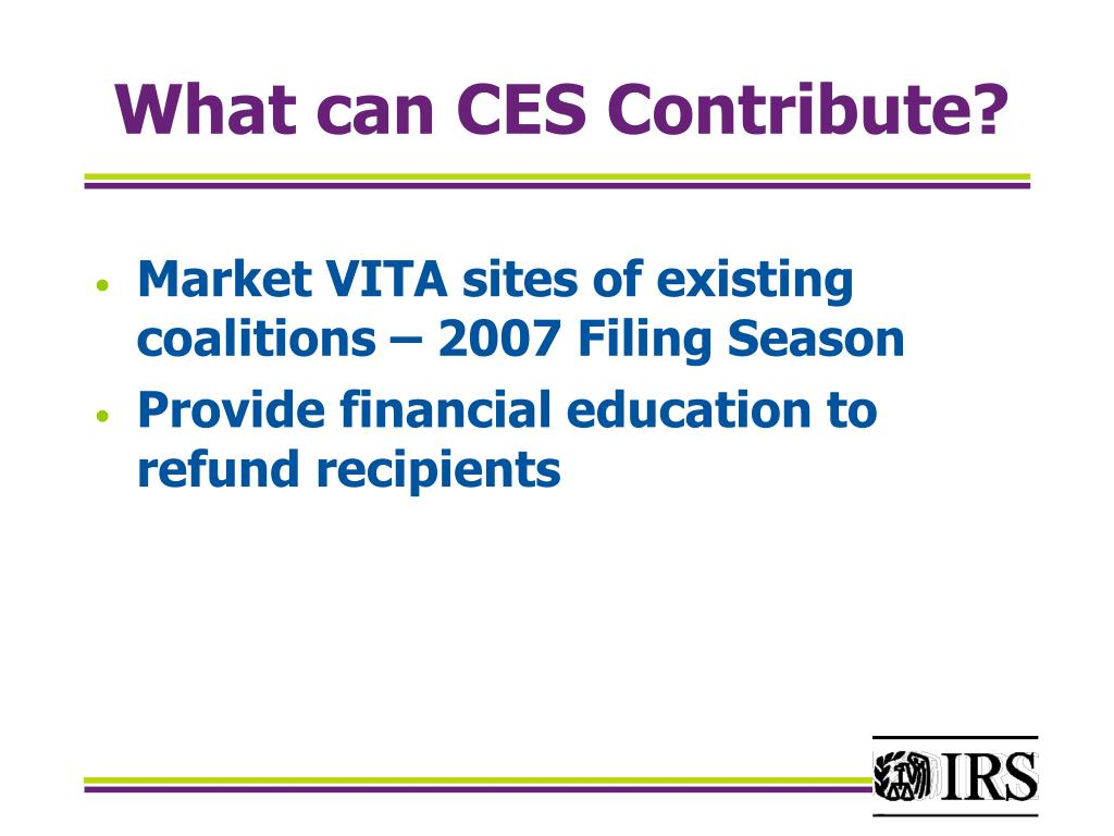 What can CES Contribute?