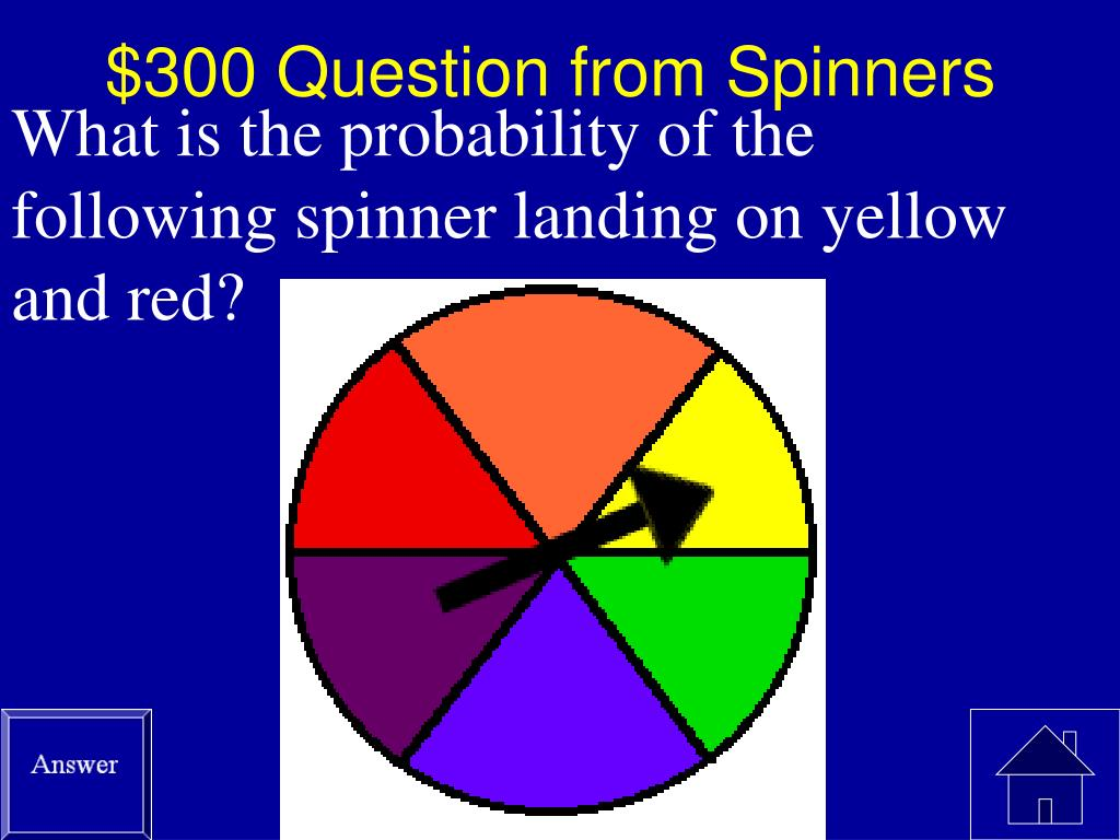 $300 Question from Spinners