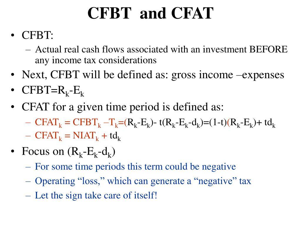 CFBT  and CFAT