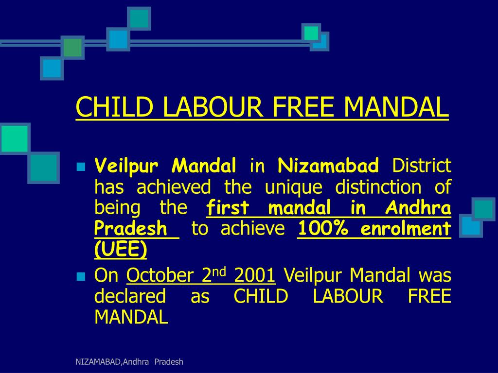 CHILD LABOUR FREE MANDAL
