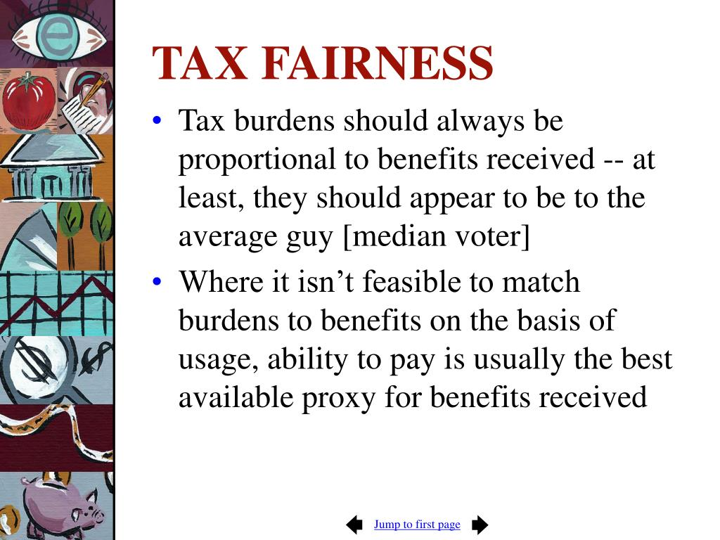 TAX FAIRNESS