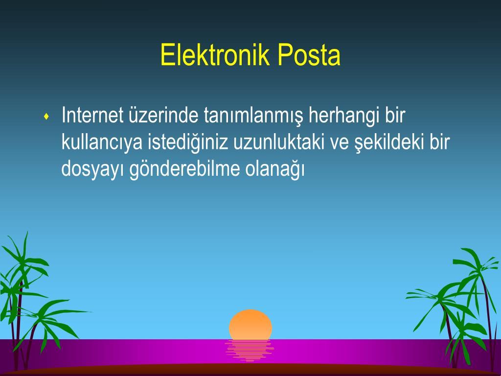 Elektronik Posta