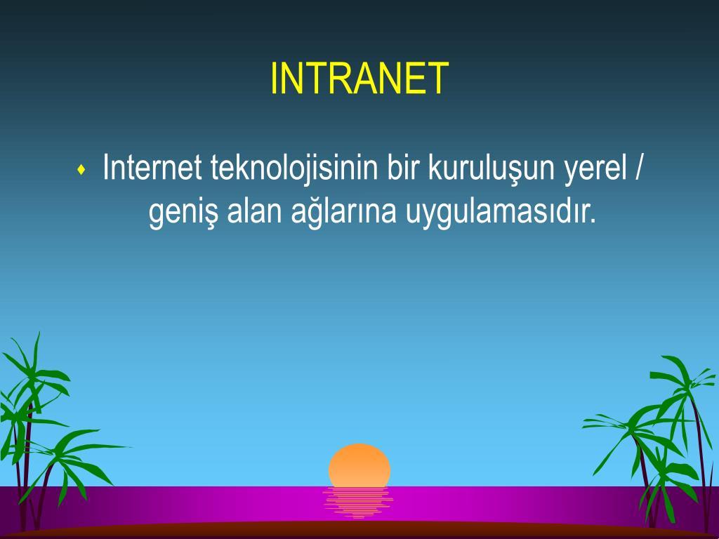 INTRANET