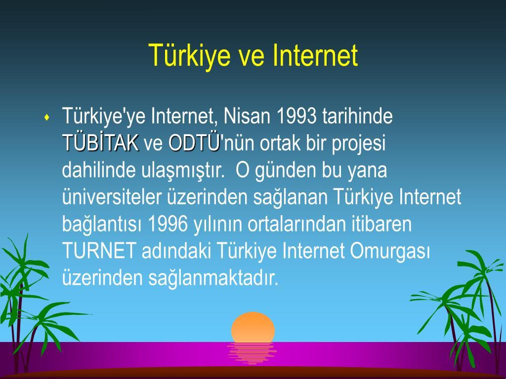 Türkiye ve Internet