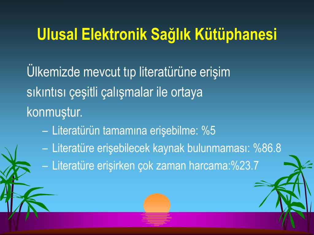 Ulusal Elektronik Sağlık Kütüphanesi