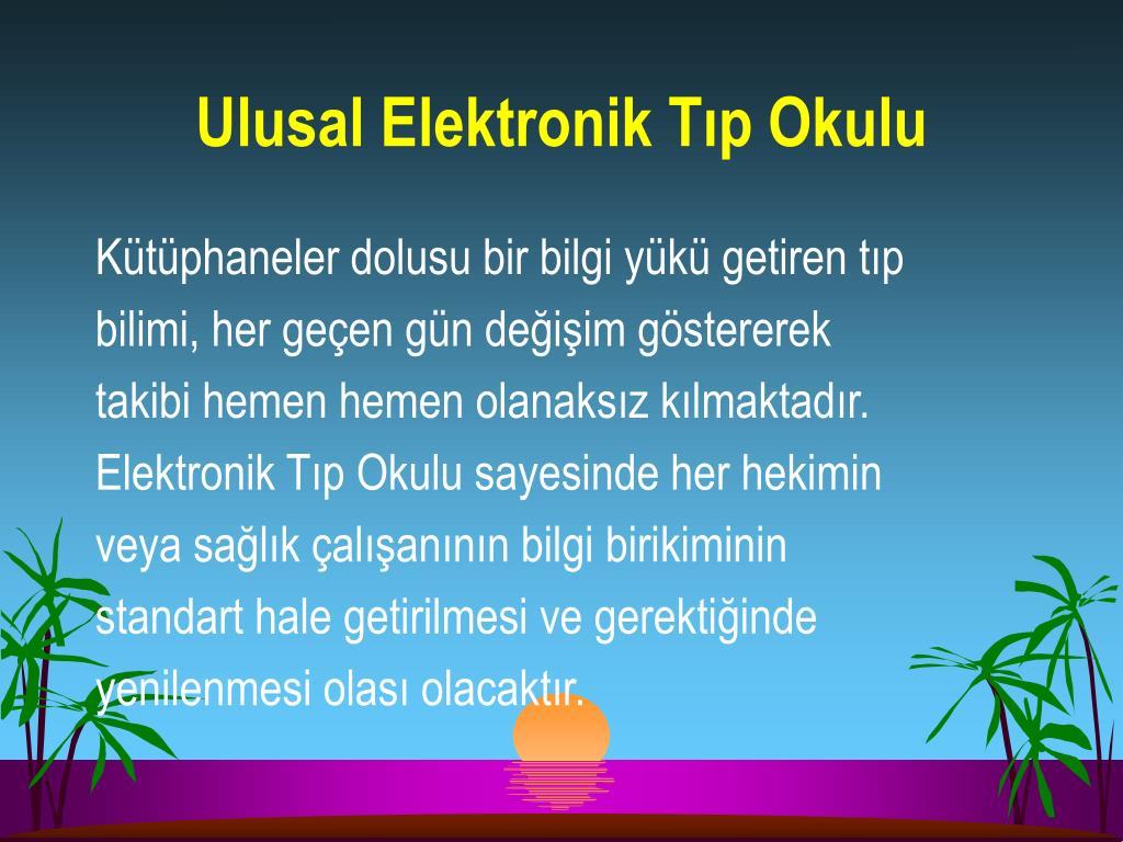 Ulusal Elektronik Tıp Okulu