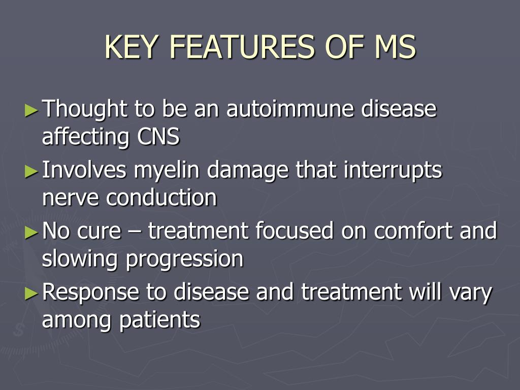 KEY FEATURES OF MS