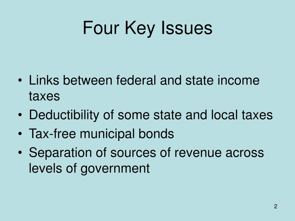 Four Key Issues