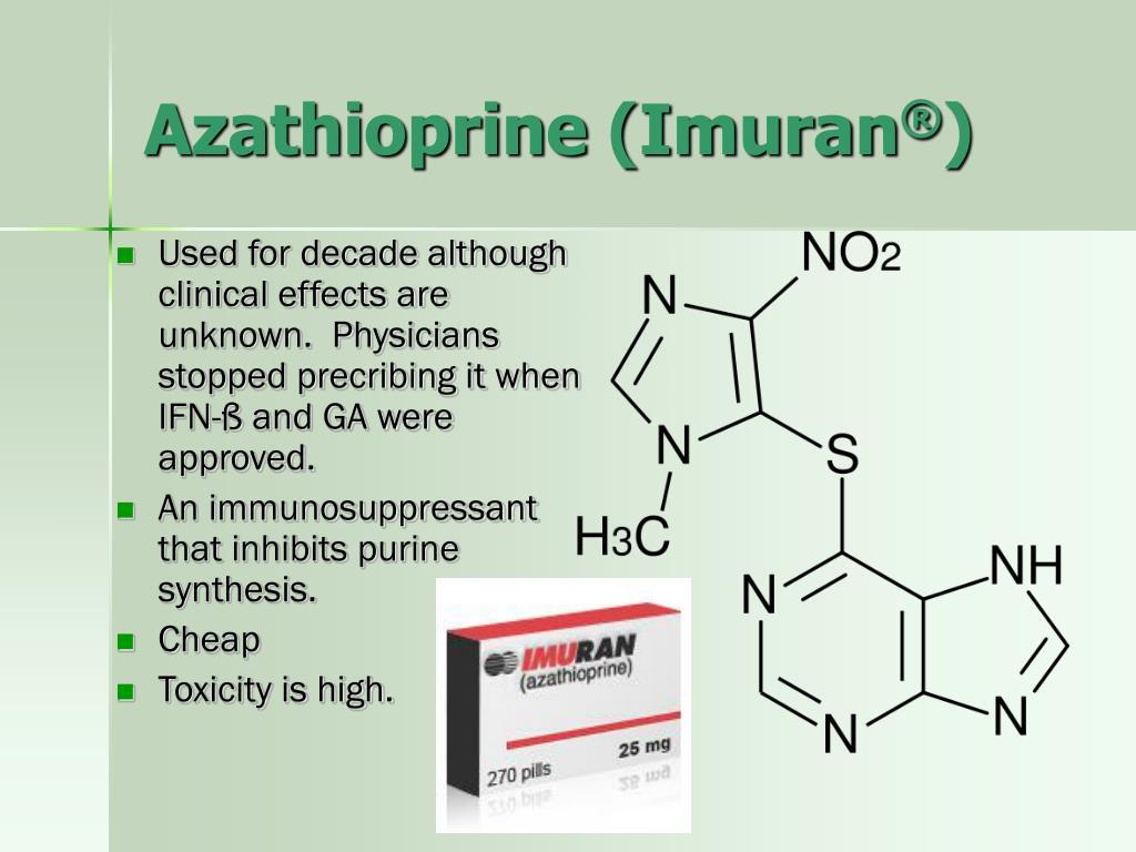 Azathioprine (Imuran