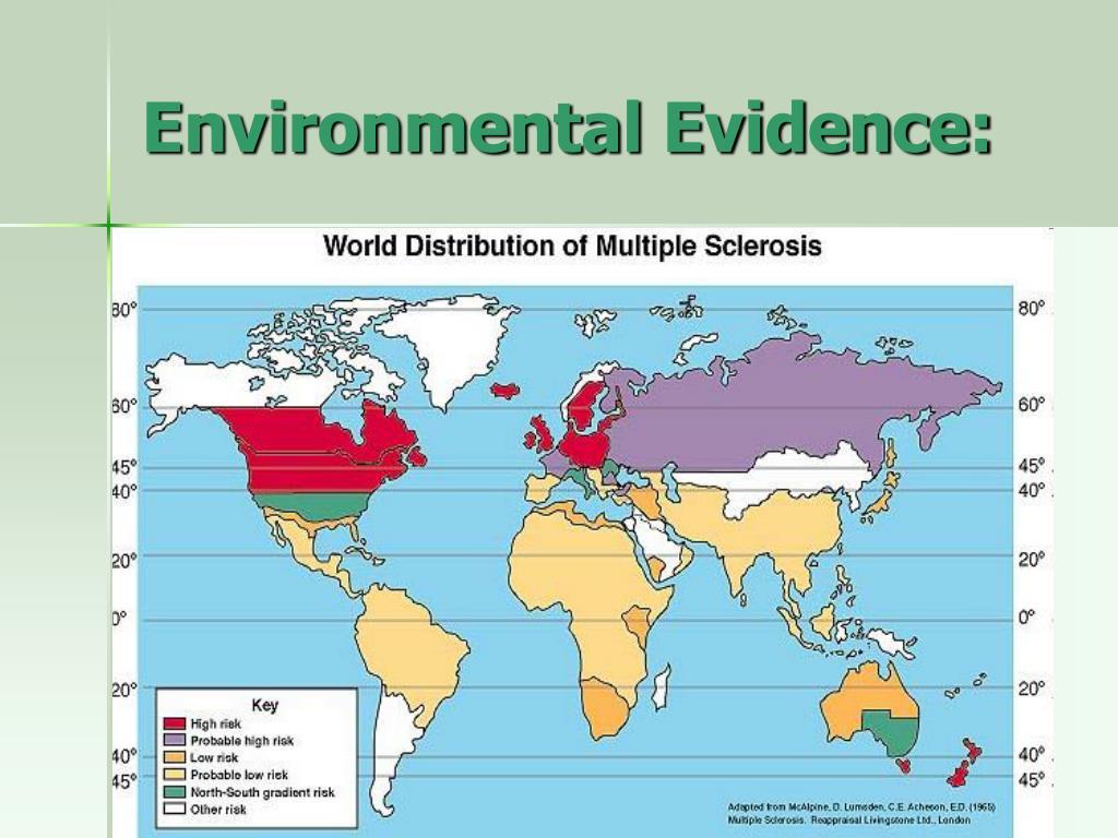 Environmental Evidence: