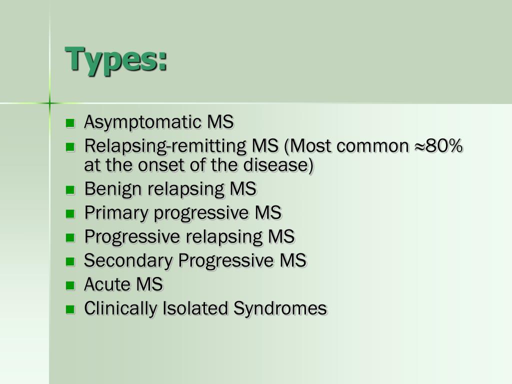 Types: