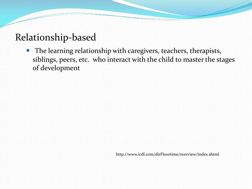 Relationship-based