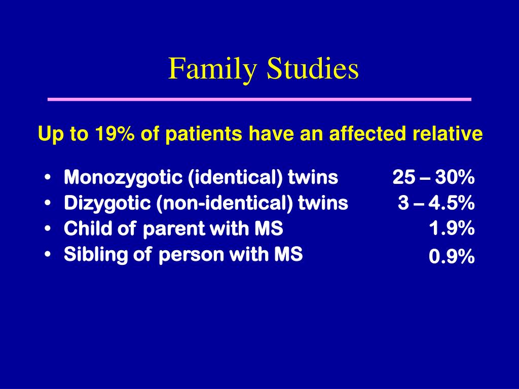 Monozygotic (identical) twins