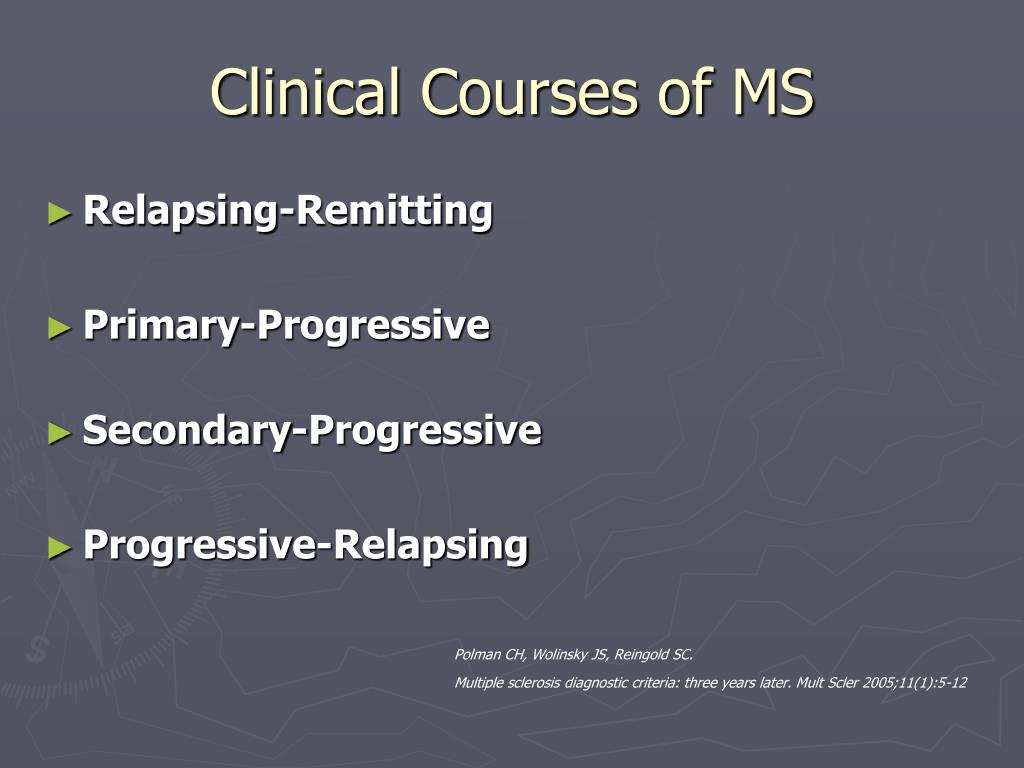 Clinical Courses of MS
